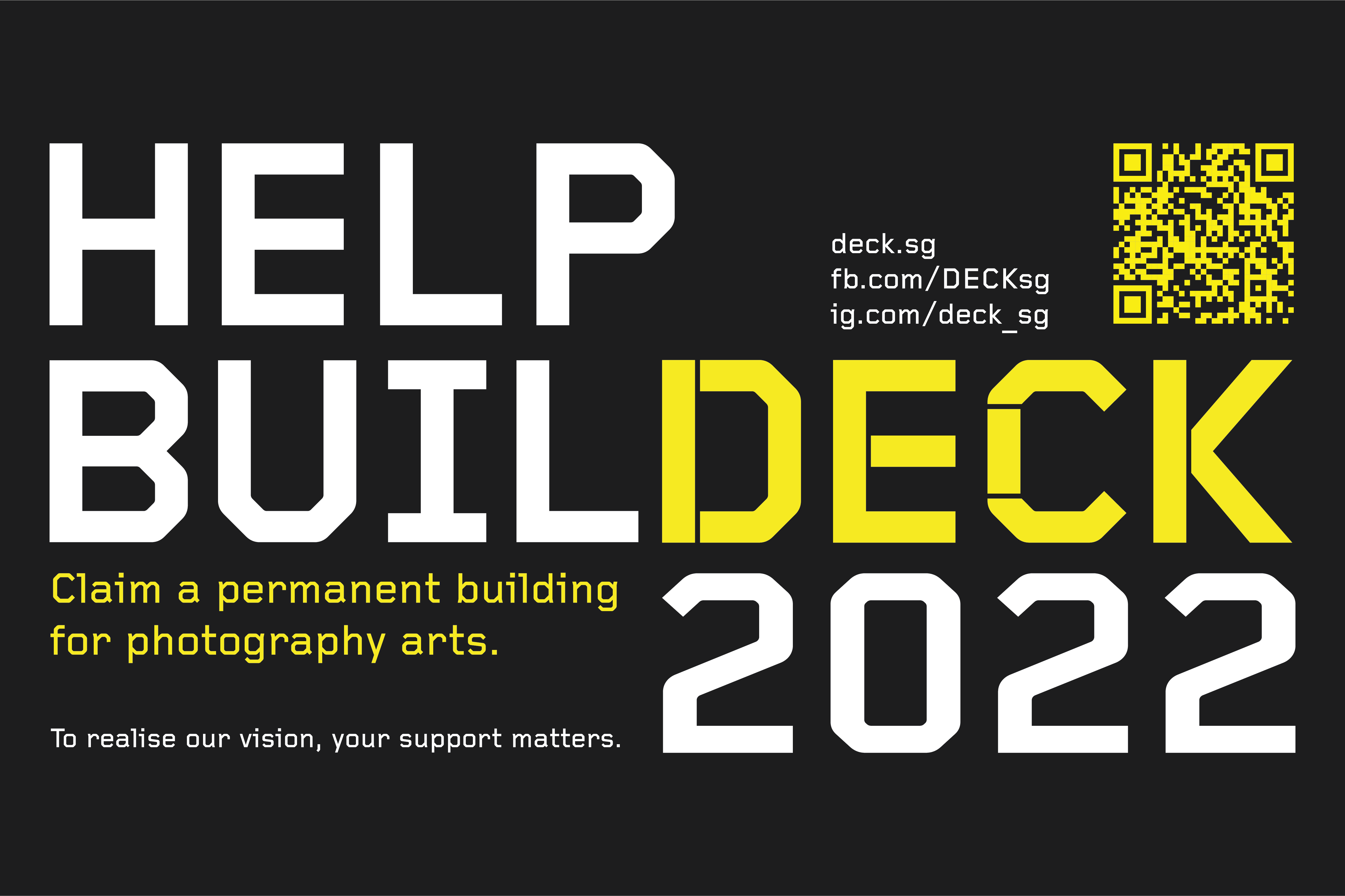 HELP #BUILDECK!
